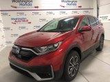 2020 Radiant Red Metallic Honda CR-V EX AWD #139283498