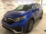 2020 Aegean Blue Metallic Honda CR-V EX AWD #139283495
