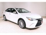 Blizzard Pearl White Toyota Camry in 2015