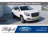 2016 White Frost Tricoat GMC Acadia SLT #139297442