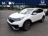 2020 Platinum White Pearl Honda CR-V EX AWD #139320525