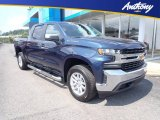 2020 Northsky Blue Metallic Chevrolet Silverado 1500 LT Crew Cab 4x4 #139331198