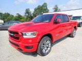 2020 Flame Red Ram 1500 Laramie Crew Cab 4x4 #139331113