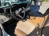 Jeep CJ7 Interiors