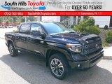 2020 Midnight Black Metallic Toyota Tundra SR5 CrewMax 4x4 #139320476