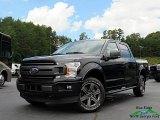 2020 Agate Black Ford F150 XLT SuperCrew 4x4 #139346594