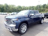 2020 Northsky Blue Metallic Chevrolet Silverado 1500 LTZ Crew Cab 4x4 #139355176