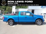 Velocity Blue Ford F150 in 2020