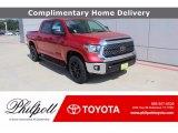 2020 Barcelona Red Metallic Toyota Tundra TSS Off Road CrewMax #139392432