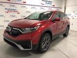2020 Radiant Red Metallic Honda CR-V EX AWD #139392355