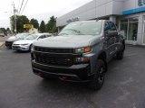 2020 Satin Steel Metallic Chevrolet Silverado 1500 Custom Trail Boss Crew Cab 4x4 #139406953