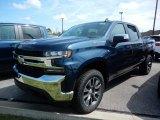 2020 Northsky Blue Metallic Chevrolet Silverado 1500 LT Crew Cab 4x4 #139407117