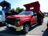 2020 Chevrolet Silverado 3500HD Work Truck Regular Cab 4x4 Dump Truck Data, Info and Specs