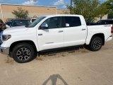 2020 Super White Toyota Tundra TRD Off Road CrewMax 4x4 #139423796