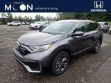 2020 Modern Steel Metallic Honda CR-V EX AWD #139437773