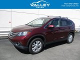 2012 Basque Red Pearl II Honda CR-V EX-L 4WD #139454675