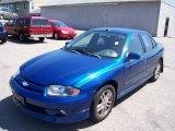 2003 Arrival Blue Metallic Chevrolet Cavalier LS Sport Sedan #13930037