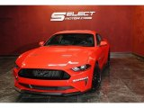 2018 Race Red Ford Mustang GT Premium Fastback #139478203