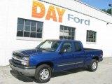 2003 Arrival Blue Metallic Chevrolet Silverado 1500 Z71 Extended Cab 4x4 #13931706