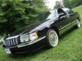 1997 Raven Black Cadillac DeVille Sedan #13924094