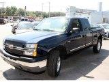 2005 Dark Blue Metallic Chevrolet Silverado 1500 LS Extended Cab 4x4 #13897419