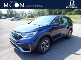 2020 Obsidian Blue Pearl Honda CR-V LX AWD #139486909