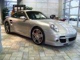 2008 GT Silver Metallic Porsche 911 Turbo Coupe #139498