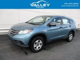 2014 Mountain Air Metallic Honda CR-V LX AWD #139498996