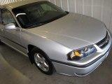 2001 Galaxy Silver Metallic Chevrolet Impala LS #13944574