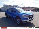 2020 Hydro Blue Pearl Ram 1500 Big Horn Crew Cab 4x4 #139517713