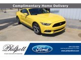 2016 Triple Yellow Tricoat Ford Mustang V6 Coupe #139517669