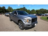 2020 Iconic Silver Ford F150 XL SuperCab 4x4 #139527347