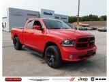 2014 Flame Red Ram 1500 Sport Quad Cab 4x4 #139535241