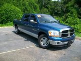 2006 Atlantic Blue Pearl Dodge Ram 1500 SLT Mega Cab #13937442