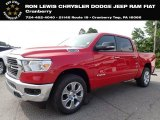2020 Flame Red Ram 1500 Big Horn Crew Cab 4x4 #139535121