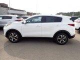 2021 Kia Sportage Clear White