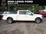 2020 Oxford White Ford F150 Lariat SuperCrew 4x4 #139535110