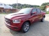 2020 Delmonico Red Pearl Ram 1500 Laramie Crew Cab 4x4 #139546630