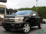 2020 Agate Black Ford F150 Platinum SuperCrew 4x4 #139546554