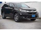 2020 Crystal Black Pearl Honda CR-V EX #139558180