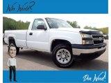 2006 Summit White Chevrolet Silverado 1500 Work Truck Regular Cab 4x4 #139558245