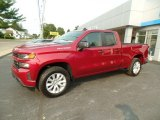 2020 Cajun Red Tintcoat Chevrolet Silverado 1500 Custom Double Cab 4x4 #139558163