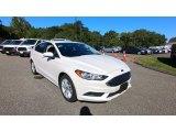 2018 Oxford White Ford Fusion SE #139599284