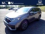 2020 Modern Steel Metallic Honda CR-V EX-L AWD #139603825