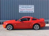 2006 Torch Red Ford Mustang GT Premium Coupe #13944859
