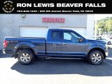2018 Blue Jeans Ford F150 XLT SuperCab 4x4 #139603772