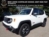 2020 Alpine White Jeep Renegade Trailhawk 4x4 #139629834
