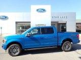 2020 Velocity Blue Ford F150 XLT SuperCrew 4x4 #139646655