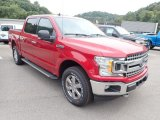 Rapid Red Ford F150 in 2020