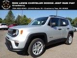 2020 Glacier Metallic Jeep Renegade Sport 4x4 #139676806